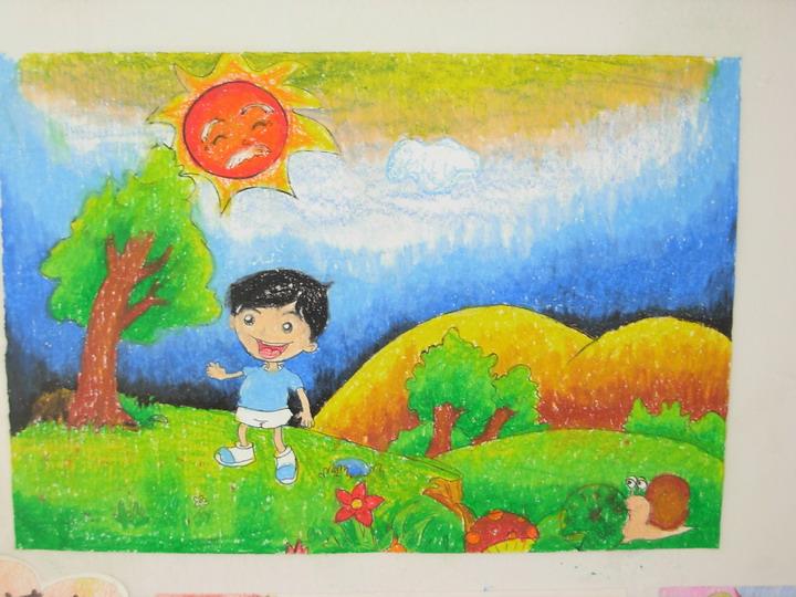 儿童创艺画